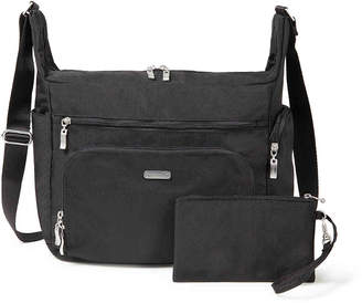 Baggallini Travel Crossbody Bag -Charcoal - Women's