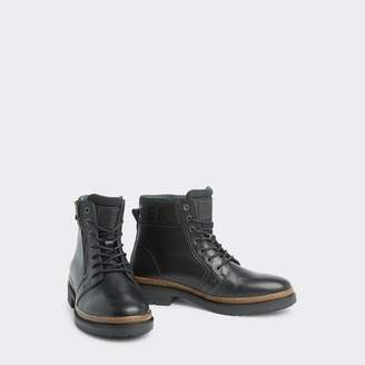 Tommy Hilfiger Leather Zip Boot