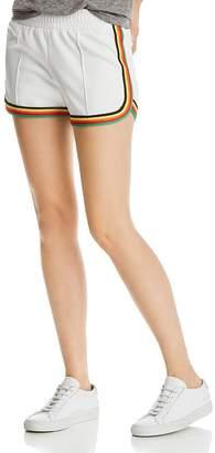 Pam & Gela Rainbow-Stripe Dolphin Shorts