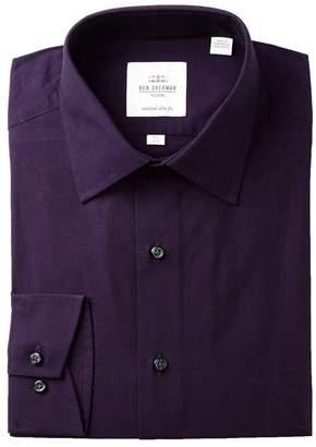 Ben Sherman Tonic Poplin Florentine Tailored Slim Fit Dress Shirt