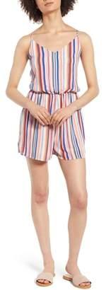 One Clothing Rainbow Stripe Romper