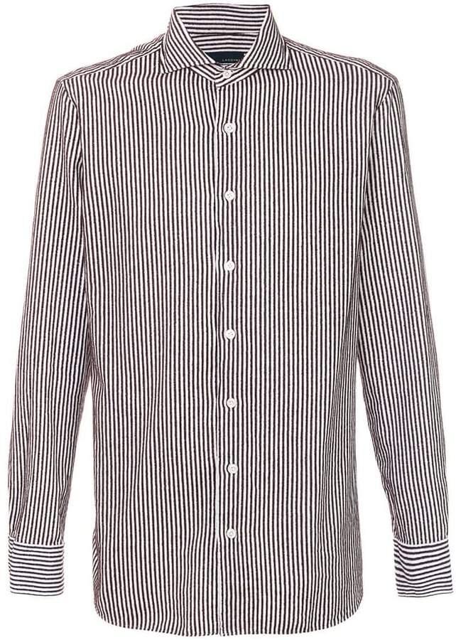 Lardini striped shirt