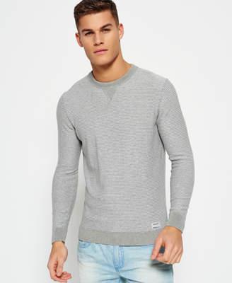 Superdry Gymnasium Stripe Crew Neck Sweater