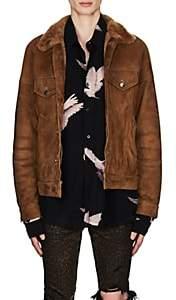 Amiri Men's Shearling Jacket - Beige, Tan