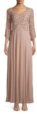 J Kara Pullover Long Dress