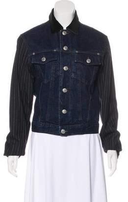 Jean Paul Gaultier Denim Paneled Jacket