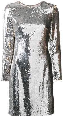 Paule Ka sequined shift mini dress