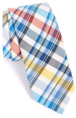 Ted Baker Plaid Cotton & Silk Tie