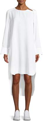 Y-3 Women's High-Low Crewneck Dress