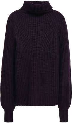 LIBRARY Goat Ribbed-knit Turtleneck Sweater