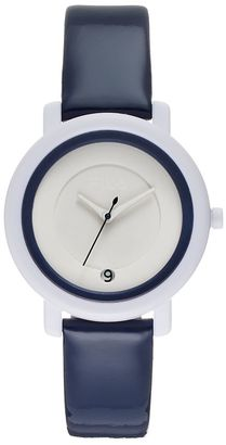 FILA® Unisex Leather Watch $59.99 thestylecure.com