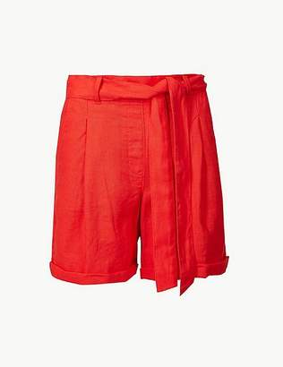 Marks and Spencer Pure Linen Chino Shorts