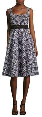 Nanette Lepore Plaid Printed Vineyard Dress