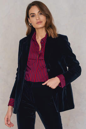 Na Kd Trend Velvet Loose Fit Blazer