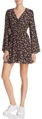 En Creme Floral-Print Dress
