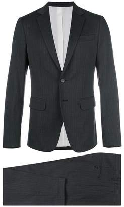 DSQUARED2 Manchester striped suit