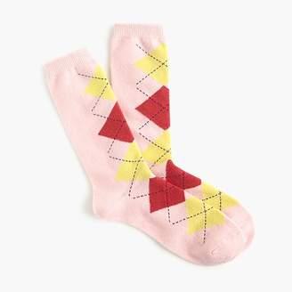 J.Crew Trouser socks in argyle