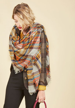 Fame Accessories Willamette for the Weekend Scarf in Pebble $24.99 thestylecure.com