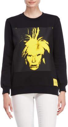 Calvin Klein Jeans Warhol Portrait Pullover Sweatshirt