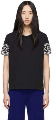 Kenzo Black and White Logo T-Shirt