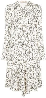 Roberto Cavalli leopard print flared dress