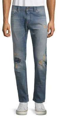 Diesel Thavar Stretch Cotton Slim-Fit Jeans
