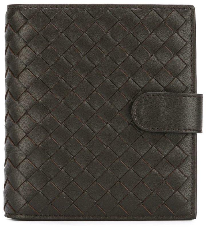 Bottega VenetaBottega Veneta interlaced bi-fold wallet