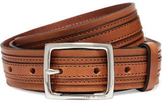 Rag & Bone Tiegan Leather Belt - Tan