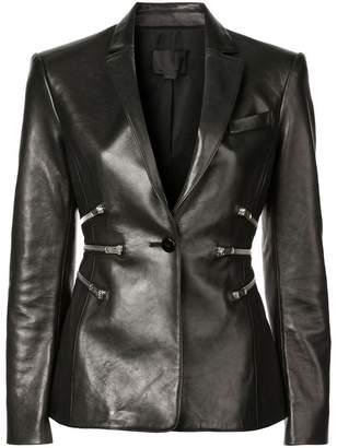 Alexander Wang zipper detail blazer
