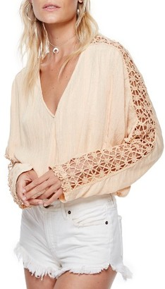 Women's Free People Runaway Blouse $98 thestylecure.com