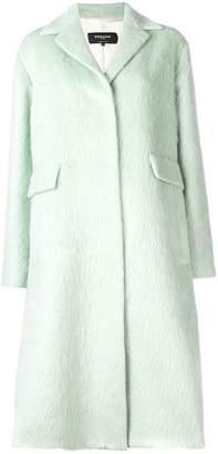 Rochas classic midi coat