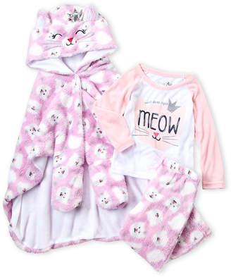 Freestyle Revolution (Toddler Girls) 3-Piece Meow Robe & Pajama Set