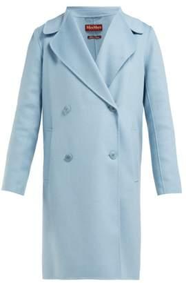 Max Mara Verbano Coat - Womens - Light Blue