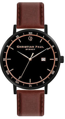 CHRISTIAN PAUL Unisex Analog Alpha The Noble Man Watch