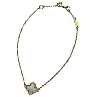 Van Cleef & Arpels Sweet Alhambra yellow gold bracelet
