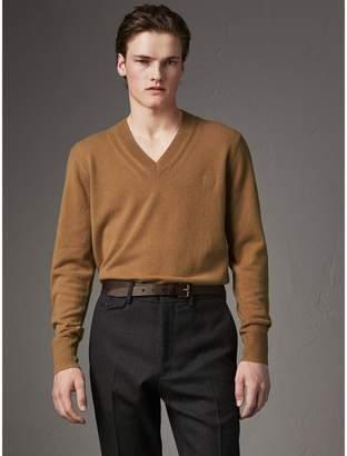 Burberry Cashmere V-neck Sweater