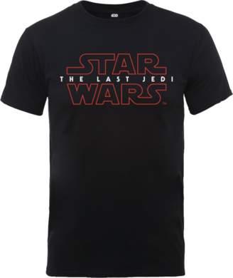 Star Wars The Last Jedi Men's Black T-Shirt