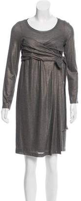 Robert Rodriguez Long Sleeve Knee-Length Dress