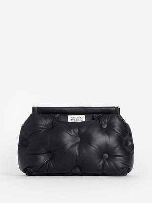 Maison Margiela WOMEN'S BLACK GLAM SLAM MEDIUM BAG