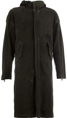 Giorgio Brato hooded coat