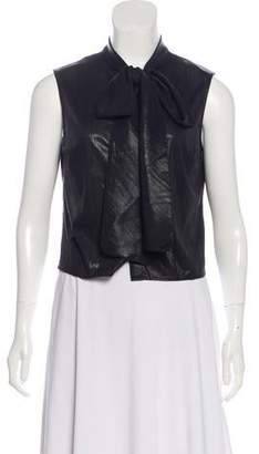 Rachel Antonoff Sleeveless Button-Up Top w/ Tags