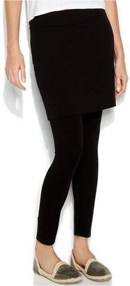 Eileen Fisher Stretch Jersey Knit Skirted Leggings, Regular & Petite