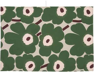 Marimekko Pieni Unikko Tea Towels - Set of 2 - Beige/Green/Peach