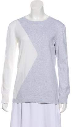 Timo Weiland Colorblock Crew Neck Sweater grey Colorblock Crew Neck Sweater