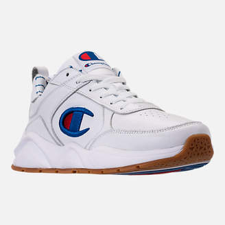 Champion Men's 93Eighteen Leather Embroidery Casual Shoes