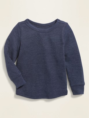 Old Navy Thermal-Knit Long-Sleeve Tee for Toddler Boys