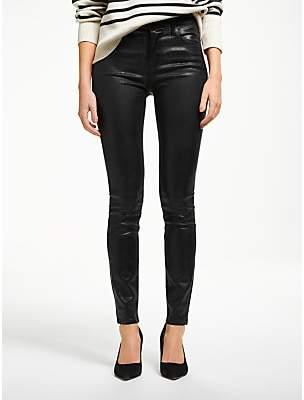 Maria High Rise Skinny Jeans, Galactic Black