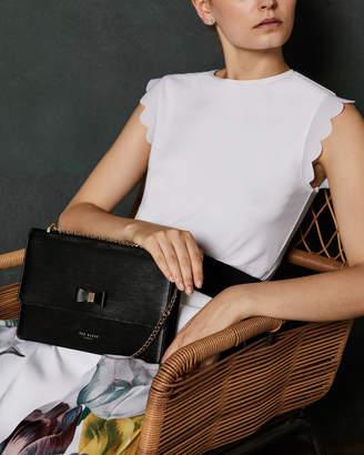 7e5c7e074b16 Ted Baker Black Leather Crossbody Bags For Women - ShopStyle Australia