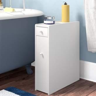 "The Twillery Co. Elspeth 22.75"" H x 6.25"" W Bathroom Floor Cabinet"