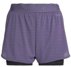 adidas Chill Layered Jacquard And Jersey Shorts
